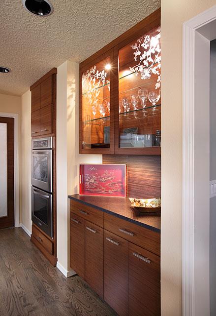 image of custom pantry