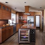 image of custom kitch with bamboo cabinets by Patti Marvitz